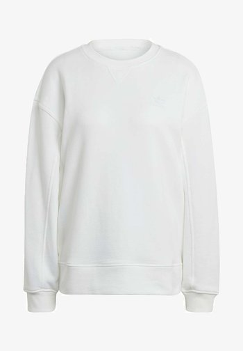 ADICOLOR 3D TREFOIL OVERSIZE SWEATSHIRT - Sweatshirt - white