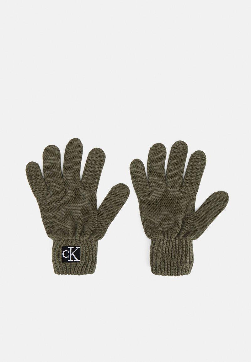 Calvin Klein Jeans - MODERN ESSENTIALS GLOVES UNISEX - Gloves - green