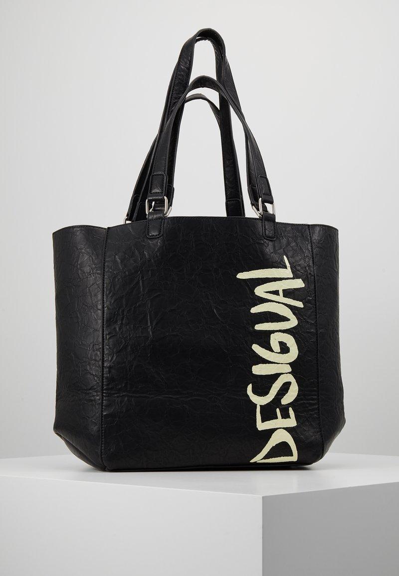 Desigual - BOLS ARTY MESSAGE COLORADO - Velká kabelka - black