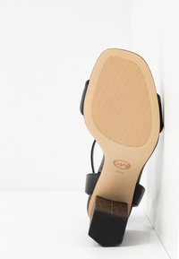 MICHAEL Michael Kors - PETRA - High heeled sandals - black/brown - 6