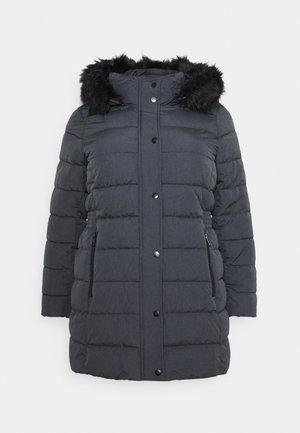 CARLUNA QUILTED COAT  - Winter coat - dark grey melange