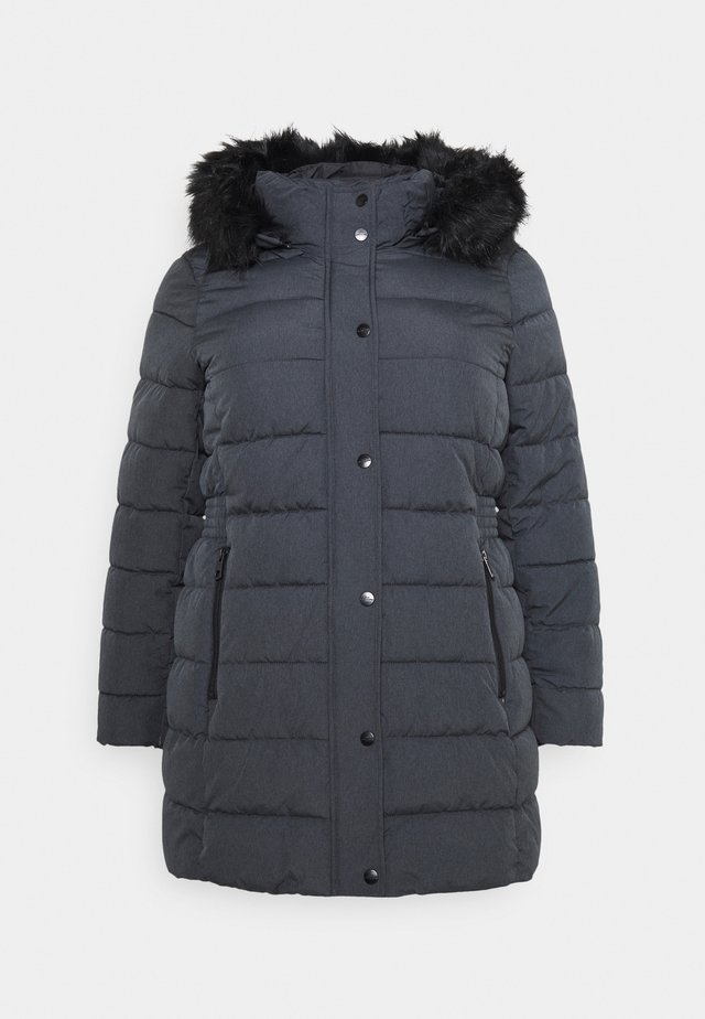CARLUNA QUILTED COAT  - Cappotto invernale - dark grey melange