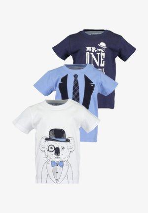 MINI KN T-SHIRT, RH - 3ER PACK - T-shirt z nadrukiem - off-white