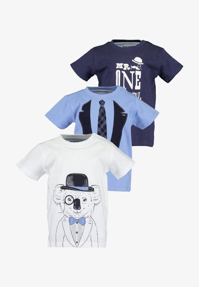 MR.GENTLE - T-shirt imprimé - off-white