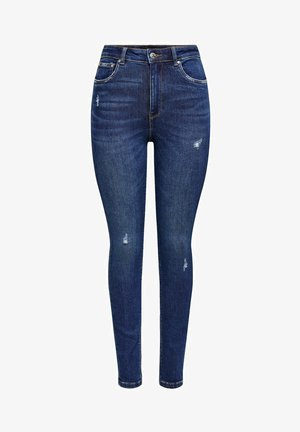 ONLMILA - Jeans Skinny Fit - dark blue denim