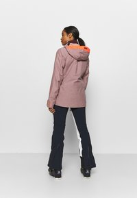 Helly Hansen - POWDERQUEEN 3.0 JACKET - Snowboard jacket - ash rose - 2
