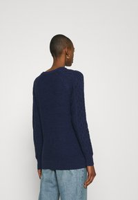GAP - CABLE CREW - Jumper - navy marl - 2