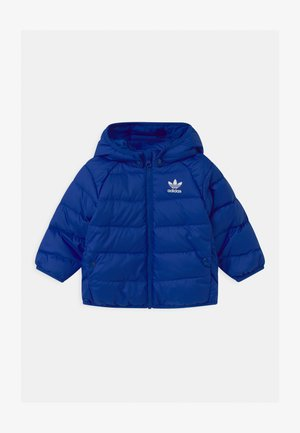 UNISEX - Gewatteerde jas - royal blue/white