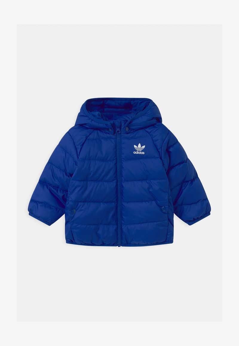 adidas Originals - UNISEX - Down jacket - royal blue/white