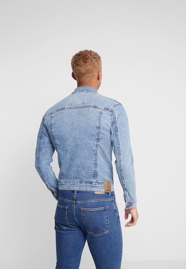 Only & Sons ONSCOME TRUCKER - Kurtka jeansowa - blue denim/granatowy Odzież Męska ZRQN