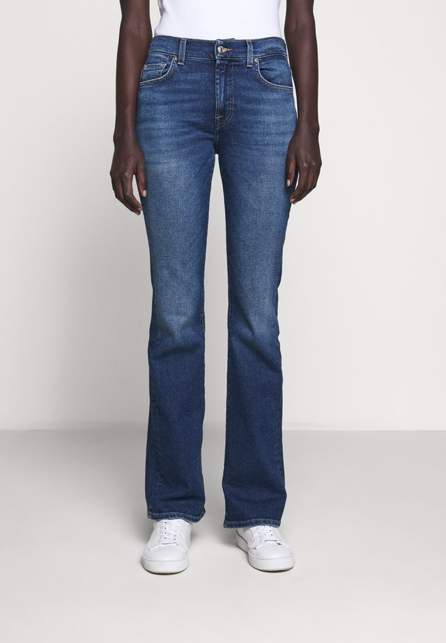 Jean bootcut - mid blue