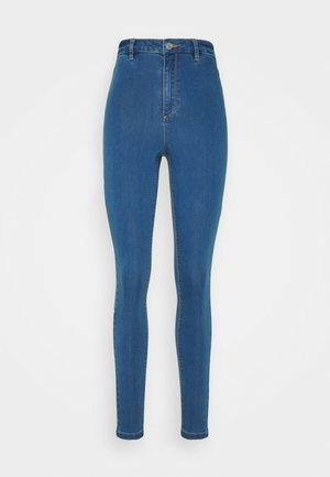 VICE HIGHWAISTED WITH BELT LOOPS - Jeans Skinny Fit - blue