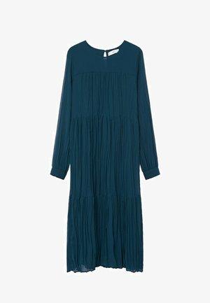 PLISADO - Denní šaty - azul