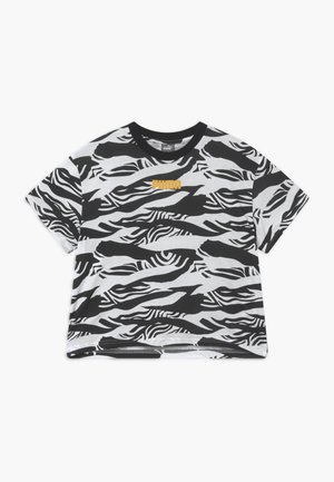 PUMA X ZALANDO GIRLS TEE - Print T-shirt - black