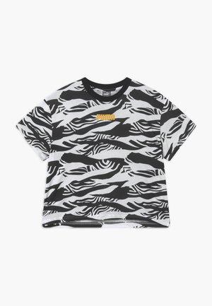 PUMA X ZALANDO GIRLS TEE - T-shirt con stampa - black