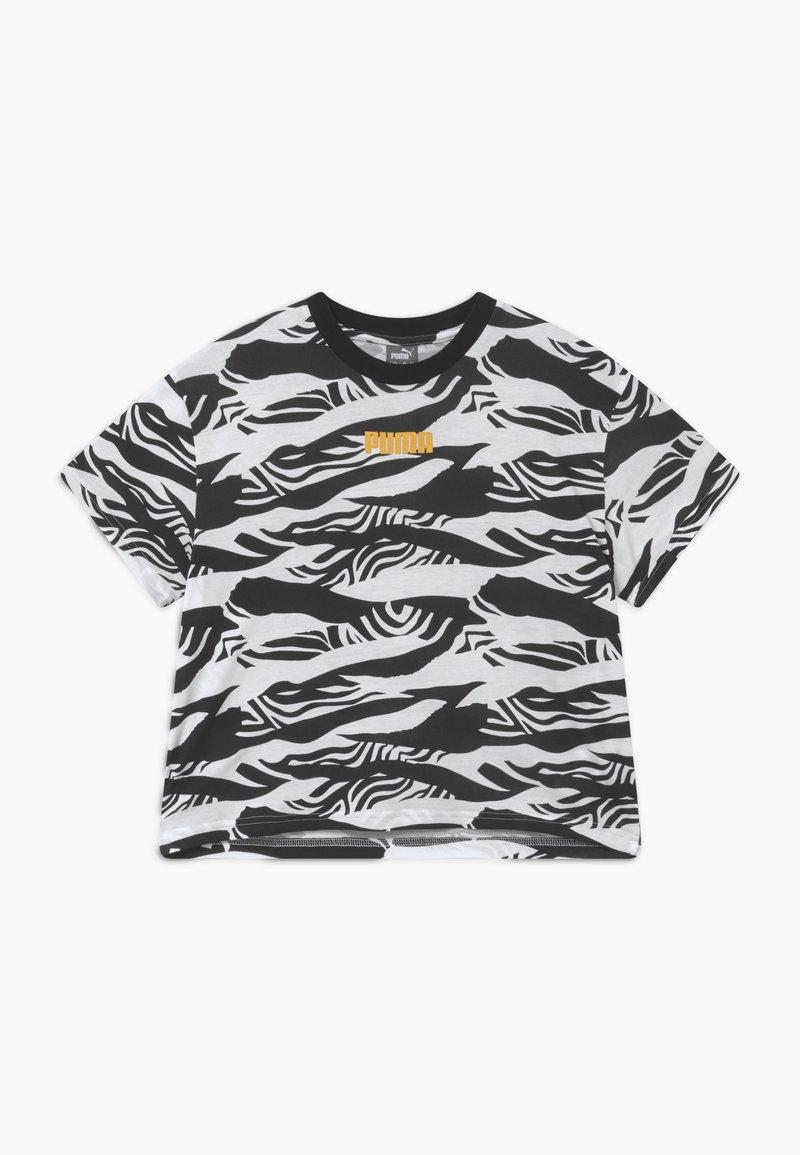 Puma - PUMA X ZALANDO GIRLS TEE - T-shirt print - black