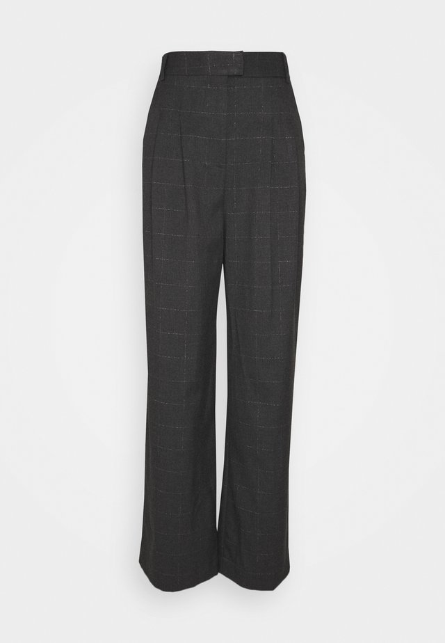 EDORE - Trousers - gris anthracite