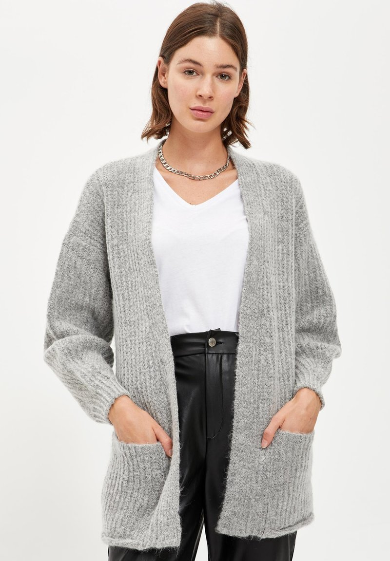 DeFacto - Cardigan - grey