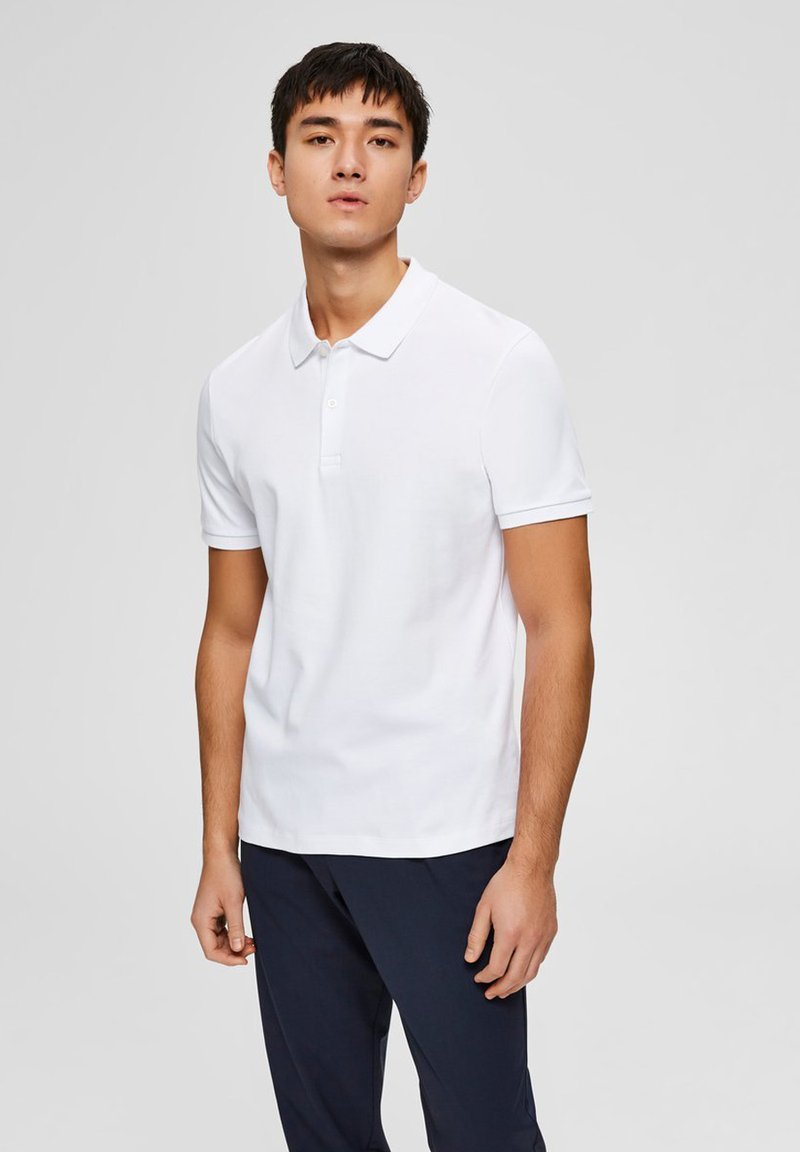Selected Homme - Polo shirt - bright white