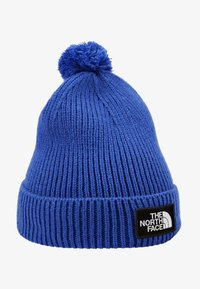 The North Face - LOGO BOX POM BEANIE UNISEX - Beanie - blue - 4