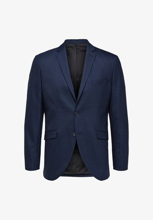 BLAZER SLIM FIT - Blazer jacket - dark blue