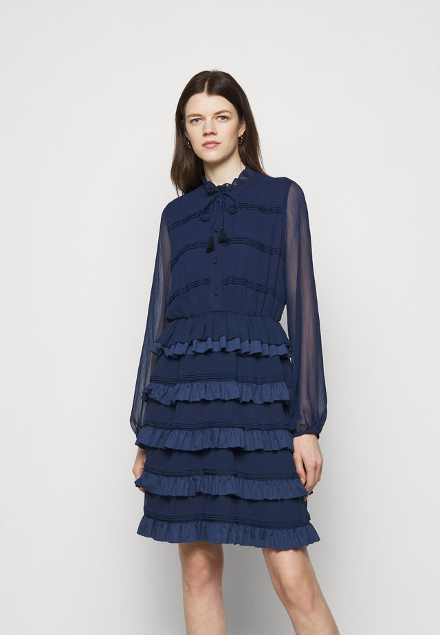 DIVINE DARLING DRESS - Blousejurk - navy blue
