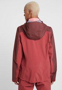 Haglöfs - STIPE JACKET WOMEN - Snowboard jacket - brick red/maroon red - 2