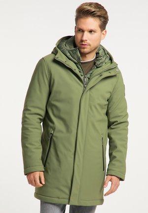 Zimní kabát - militär grün