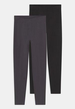 TEEN 2 PACK - Leggings - Trousers - periscope/caviar