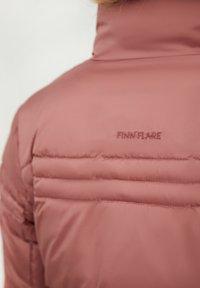 Finn Flare - Winter jacket - dark pink - 5