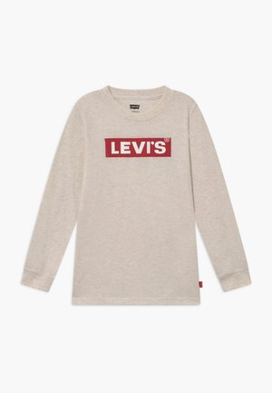 GRAPHIC - Long sleeved top - oatmeal heather