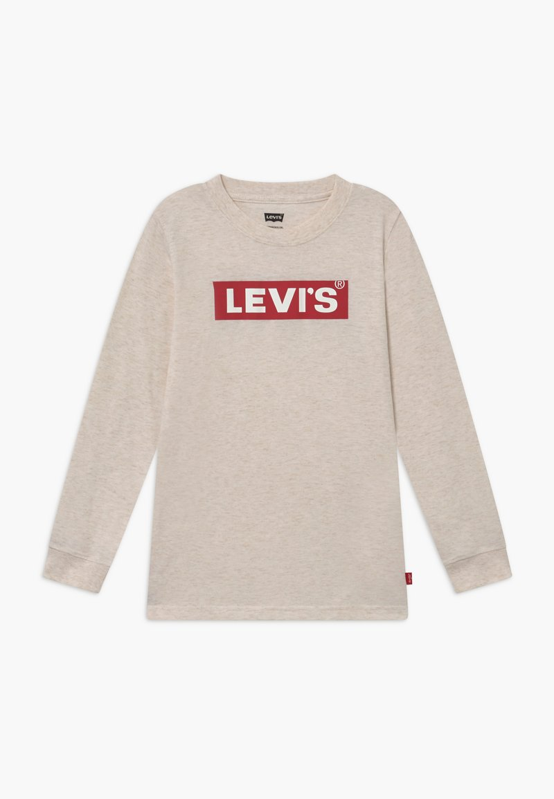 Levi's® - GRAPHIC - Longsleeve - oatmeal heather