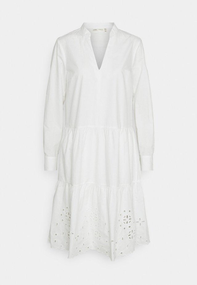 VALLERIA DRESS - Korte jurk - pure white