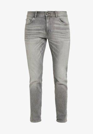 JOSH - Jeans straight leg - used light stone grey denim