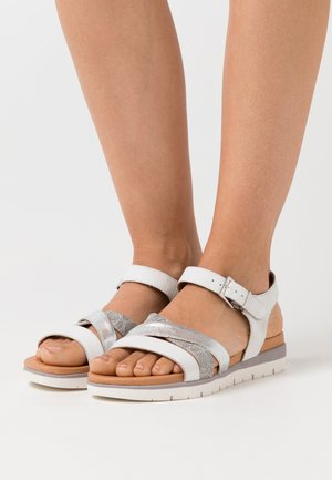 Sandali con zeppa - light grey