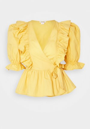 VELLA BLOUSE - Blusa - yellow