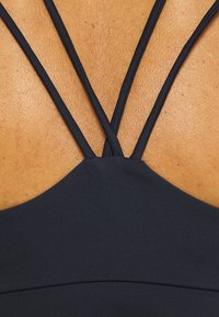 Tommy Hilfiger - LOW SUPPORT BRA PIPING - Light support sports bra - blue - 5