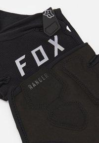 Fox Racing - RANGER GLOVE GEL SHORT - Fingerhansker - black - 2