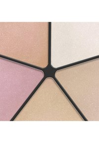IsaDora - FACE GLOW HIGHLIGHTING WHEEL - Face palette - champagne glow - 2
