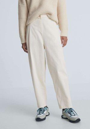BARREL - Pantalon classique - white