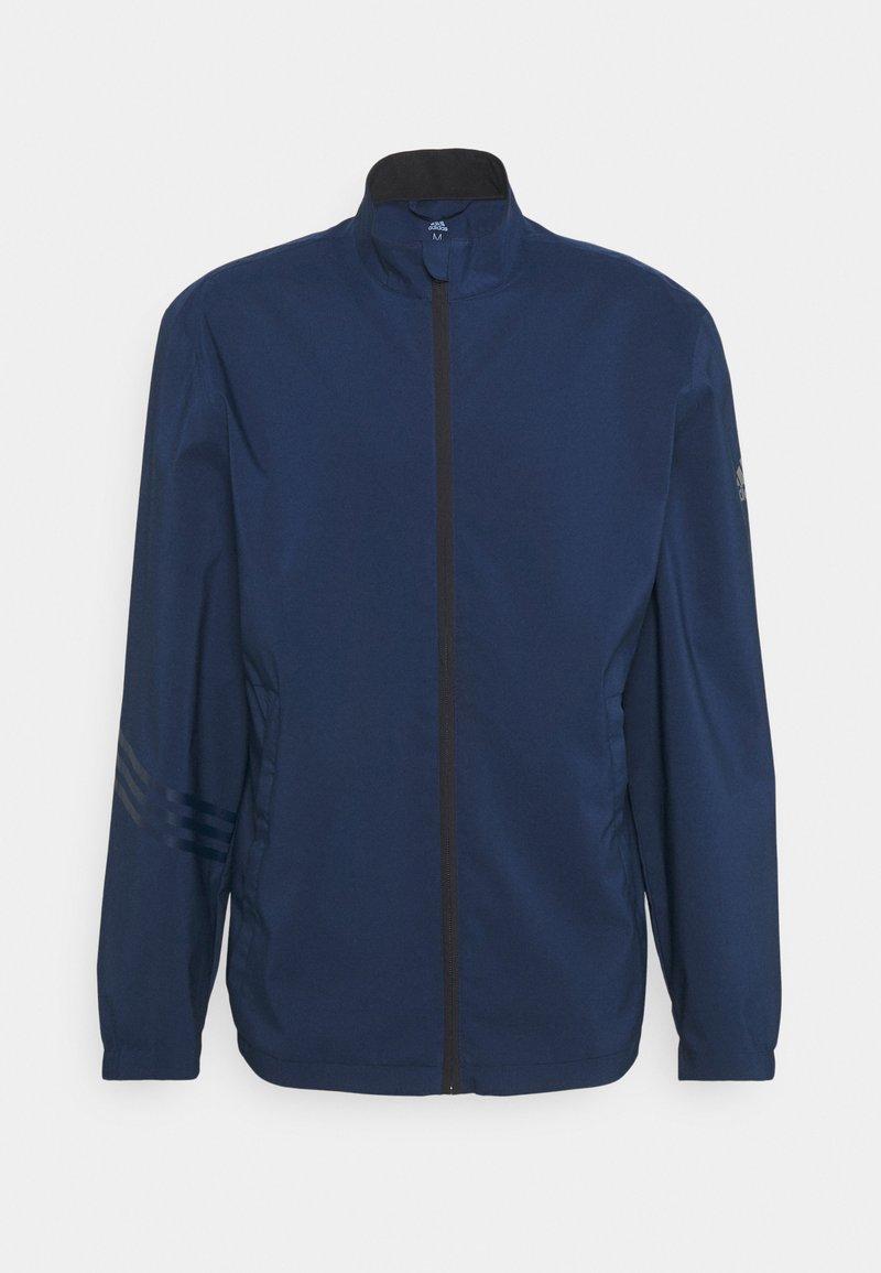 adidas Golf - GOLF PROVISIONAL RAIN JACKET - Kurtka hardshell - collegiate navy
