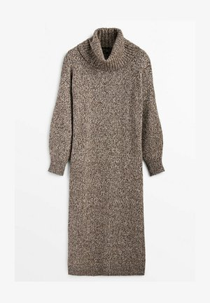 LIMITED EDITION - Shift dress - brown