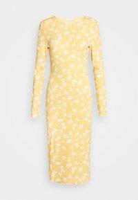 DRESS CAMMY - Shift dress - yellow