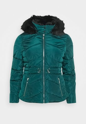 LUXE HOODED SHORT PADDED COAT
