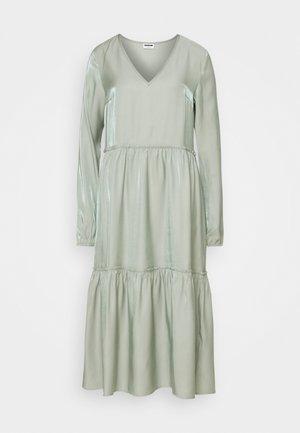 NMCORA DRESS - Vestito estivo - slate gray