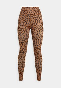 LEOPARD - Leggings - Trousers - brown