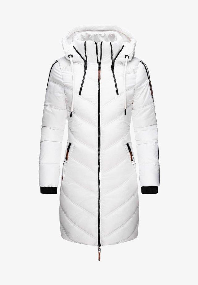 Abrigo de invierno - weiß