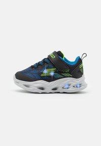 Skechers - VORTEX FLASH - Trainers - black/blue/lime - 0