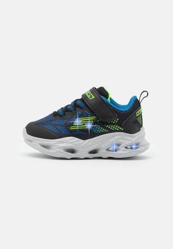 VORTEX FLASH - Trainers - black/blue/lime