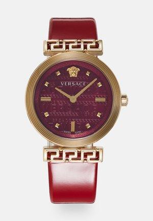 GRECA MOTIV - Horloge - red
